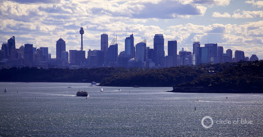 To Drought Proof City S Water Supply Sydney Proposes A