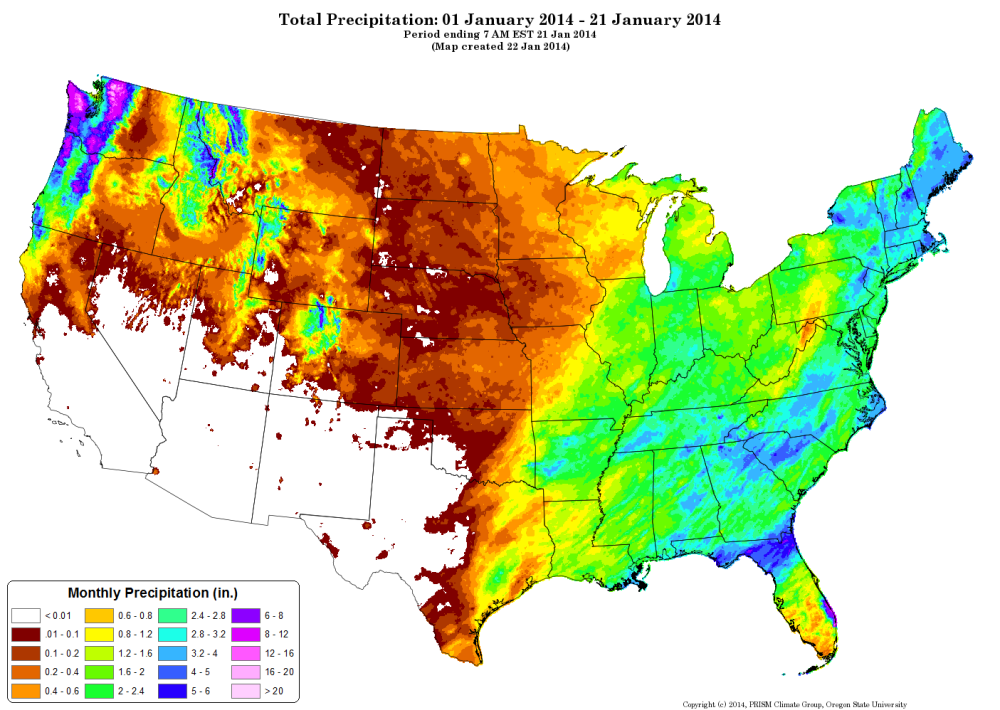 California Texas And The Southwestern US Face A Critical Year - Water runoff table map us