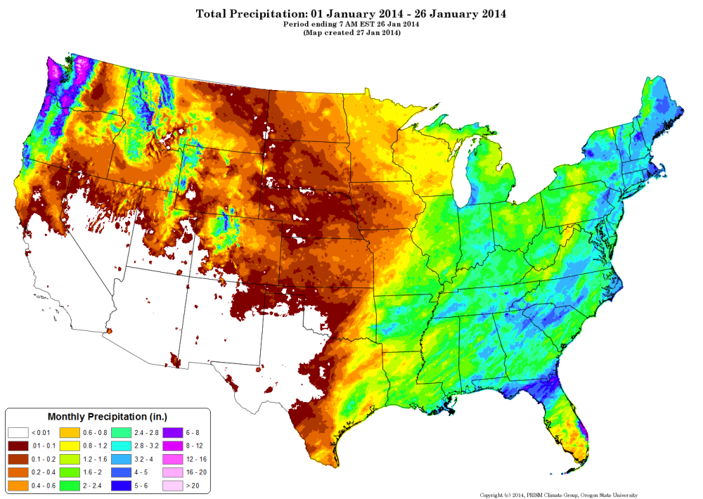 Us water table map