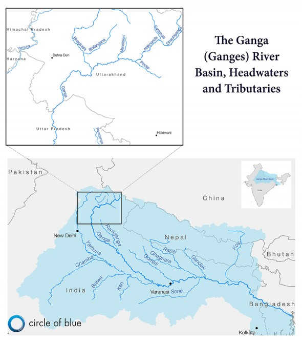 ganges river pollution chart - photo #13