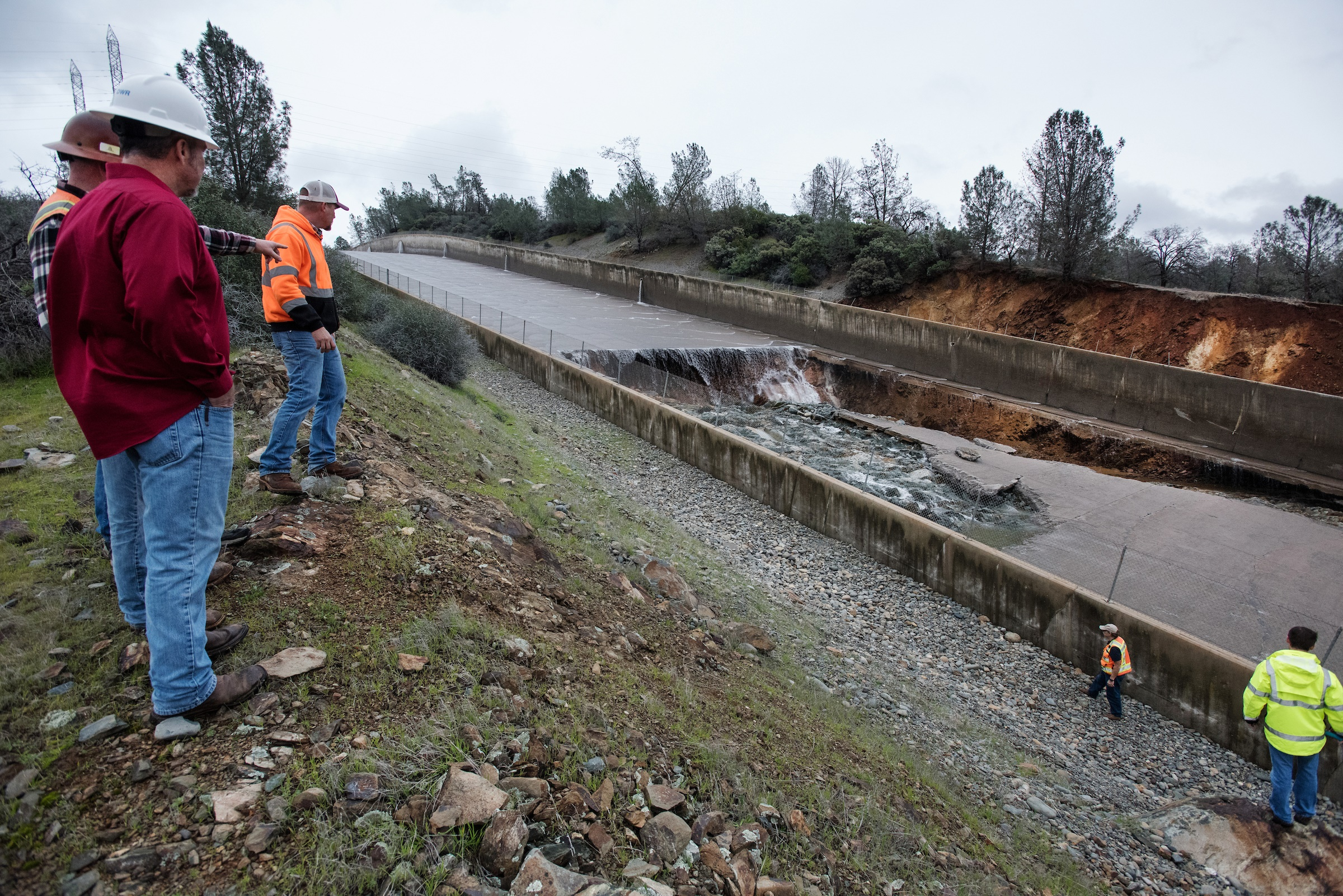 Sinking Land Causes California Water Chokepoint Circle
