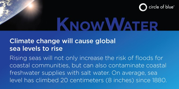Climate change will cause sea level rise