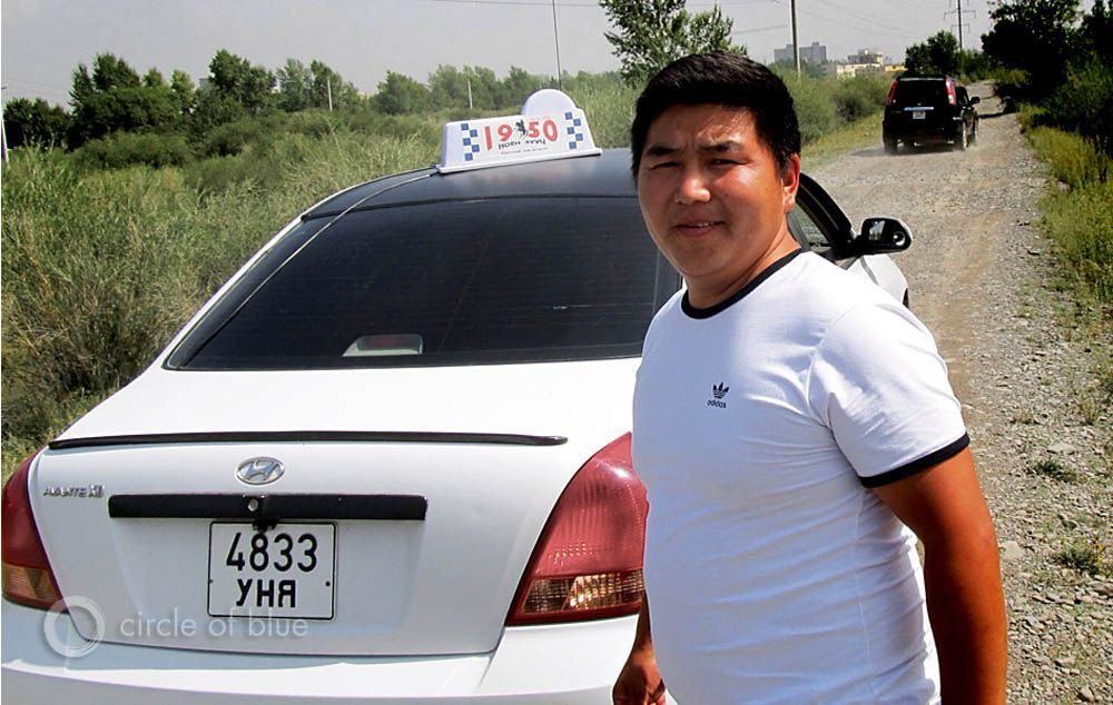 Mongolia taxi driver resource boom